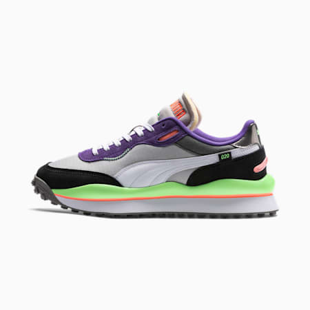 Rider 020 Play On Sneaker, Gray Violet-White-Ult Violet, small