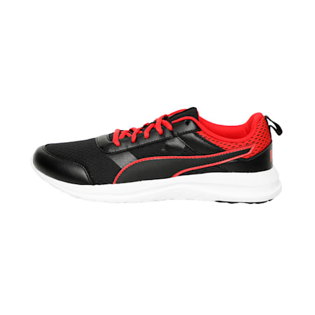 Dune Dust IDP Men's Sneakers, Puma Black-High Risk Red, small-IND