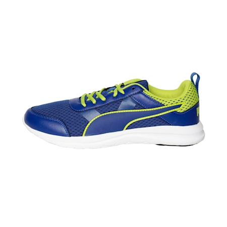 Dune Dust IDP Men's Sneakers, Sodalite Blue-Limepunch, small-IND
