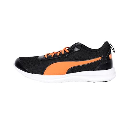 Shadowshard IDP Men's Running Shoes, Asphalt-Vibrant Orange-Black, small-IND