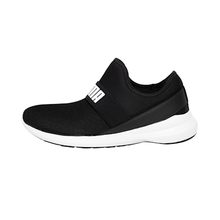 Pace Slip On IDP Men's Walking Shoe, Puma Black-Puma White, small-IND