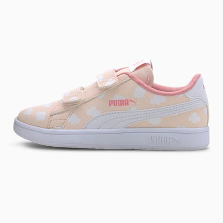PUMA Smash v2 Little Kids' Shoes, Rosewater-Peony-Puma White, small