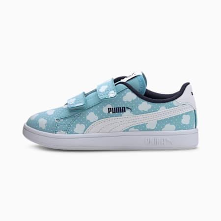 PUMA Smash v2 Little Kids' Shoes, Gulf Stream-PW-Peacoat, small