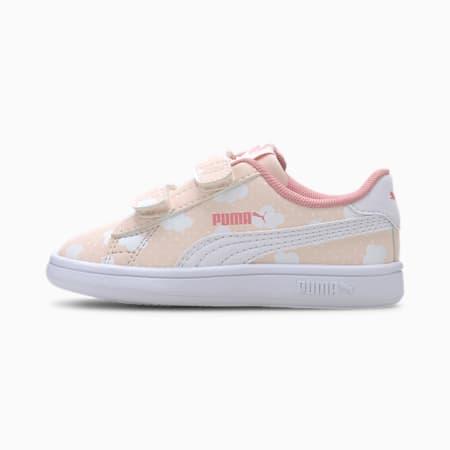PUMA Smash v2 Toddler Shoes, Rosewater-Peony-Puma White, small