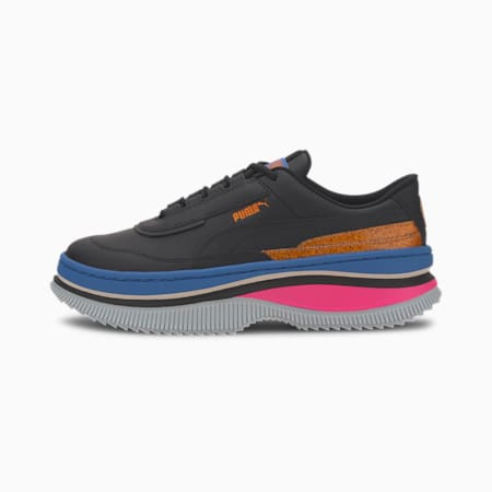 Deva '90s POP Women's Trainers, Puma Black-Palace Blue, small