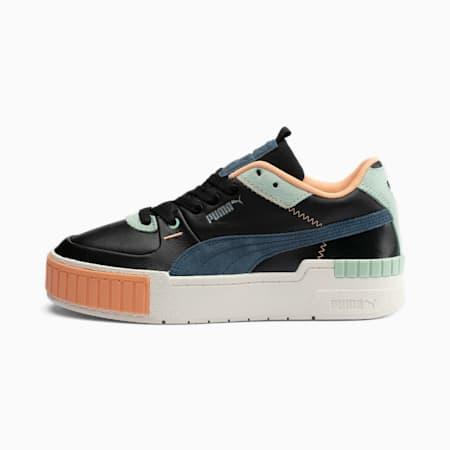 Cali Sport Mix Damen Sneaker, Puma Black-Marshmallow, small