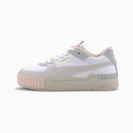Cali Sport Mix Women's Trainers, Puma White-Marshmallow, small