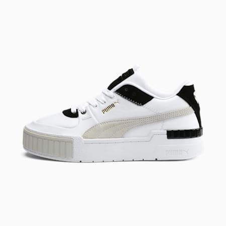 Cali Sport Mix sportschoenen voor dames, Puma White-Puma Black, small