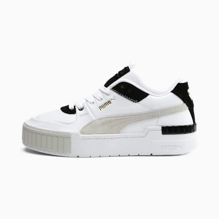 Zapatillas para mujer Cali Sport Mix, Puma White-Puma Black, small