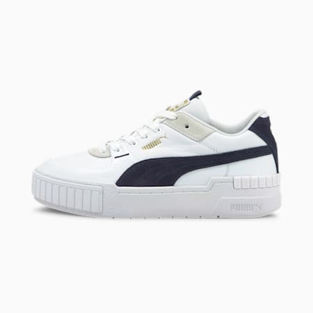 Cali Sport Mix Women's Shoes, Puma White-Peacoat, small-IND