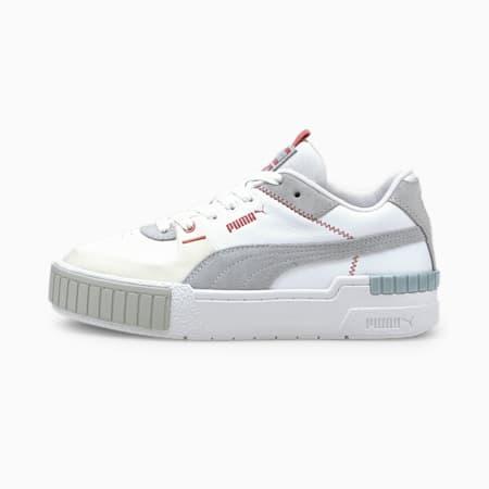 Cali Sport Mix Women's Shoes, Puma White-Glacial Blue-Blue Fog, small-IND