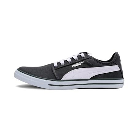 Dalian IDP Sneakers, Dark Shadow-Puma White, small-IND