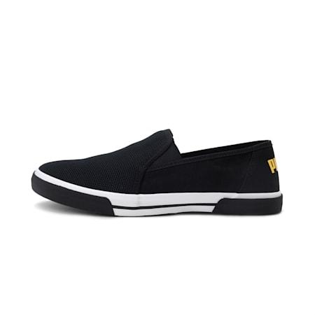 Procyon Slip-on IDP Sneakers, Puma Black-Super Lemon, small-IND