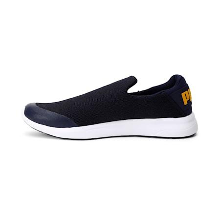 Propel Slip on IDP Walking Shoes, Peacoat-Golden Orange, small-IND