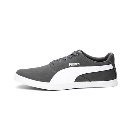 Rigel IDP Unisex Sneakers, Dark Shadow-Puma White, small-IND