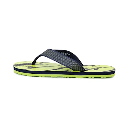 Carb GU 2 IDP  Flip Flops, Peacoat-Limepunch-Puma White, small-IND