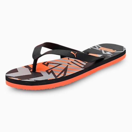 Epsom 2 IDP Sandals, Black-VibrantOrange-HighRise, small-IND