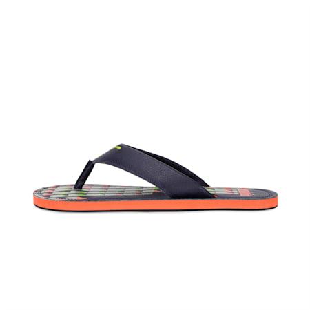 Ketava Graphic GU IDP Sandals, Peacoa-Overc-Limepun-JaffaOr, small-IND
