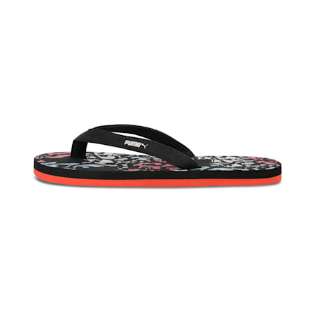 Ronni v3 IDP Sandals, Puma Black-Hot Coral-Rosewater, small-IND