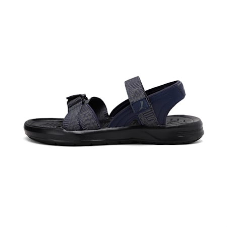 Stance X2 IDP Sandals, Black-CASTLEROCK-Peacoat, small-IND