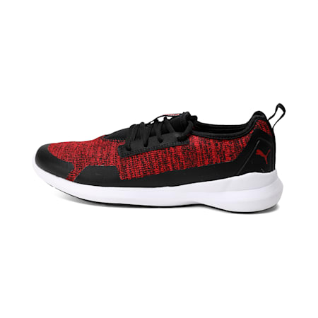 Stride Evo IDP Sneakers, Puma Black-Red Dahlia, small-IND