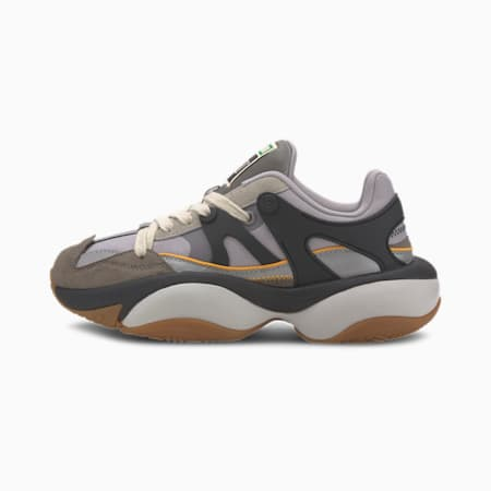 PUMA x RHUDE Alteration Trainers, Steel Gray-Drizzle, small