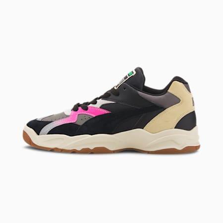 PUMA x RHUDE Performer Sneakers, Charcoal Gray-Puma Black, small
