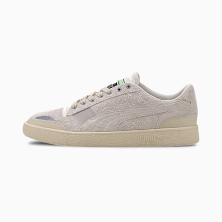 PUMA x RHUDE Ralph Sampson Lo Trainers, Whisper White, small