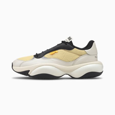 PUMA x RANDOMEVENT Alteration Trainers, White Asparagus-Puma Black, small-SEA