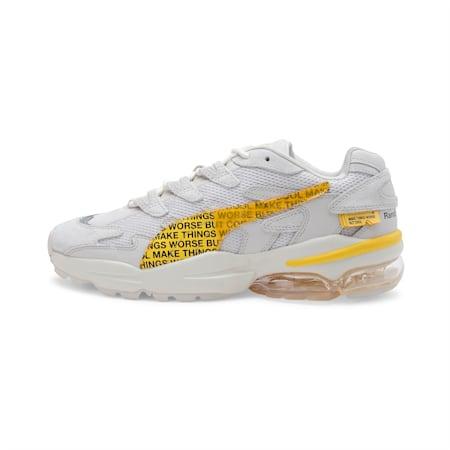 PUMA x RANDOMEVENT CELL Alien Shoes, White Asparagus-Lemon Chrome, small-IND