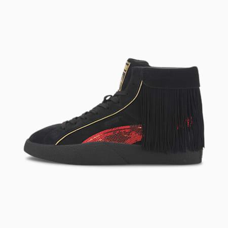 Damskie buty sportowe PUMA x CHARLOTTE OLYMPIA Love, Puma Black-High Risk Red, small