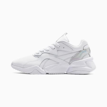Nova Iridescent Damen Sneaker, Puma White-Puma Black, small