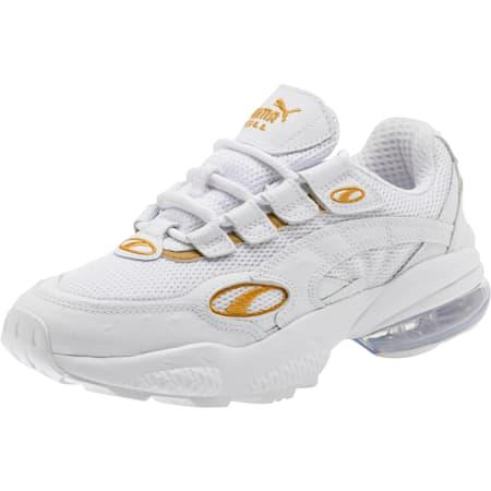 CELL Venom WO Women's Sneakers, Puma White-Puma Team Gold, small