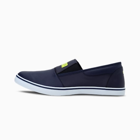 Funk Slip on IDP Sneakers, Peacoat-Limepunch-Puma White, small-IND