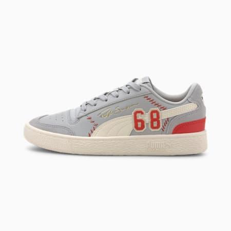PUMA x RALPH SAMPSON Lo Collegiate Jr Sneakers, High Rise-Whisper White, small-IND