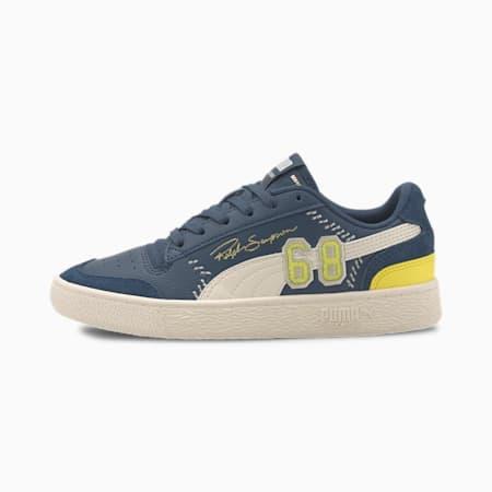 PUMA x RALPH SAMPSON Lo Collegiate Jr Sneakers, Dark Denim-Whisper White, small-IND