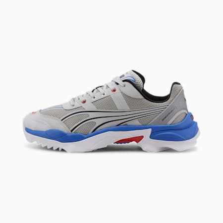 Nitefox Highway Running Shoes, Puma Silver-Puma White, small-IND