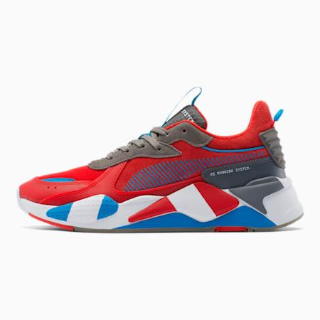 Zapatos deportivos RS-X Retro, Red-Steel Gray-Indigo, pequeño