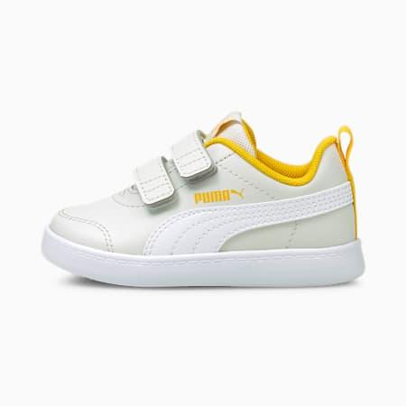 Courtflex V2 Baby Sneakers, Nimbus Cloud-Puma White, small