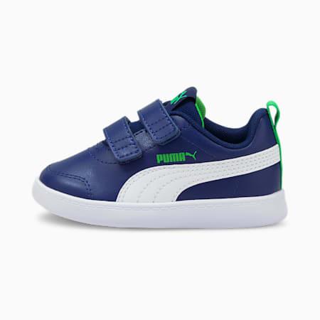 Courtflex V2 sportschoenen voor baby's, Elektro Blue-Puma White, small