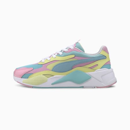RS-X3 Plastic Sneaker, Gulf Stream-Sunny Lime, small