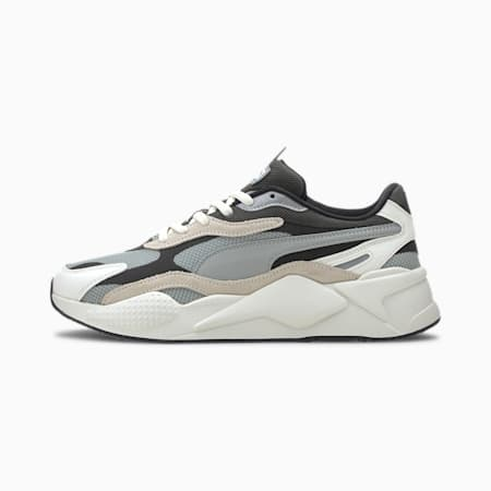 RS-X3 パズル スニーカー, Limestone-Whisper White, small-JPN
