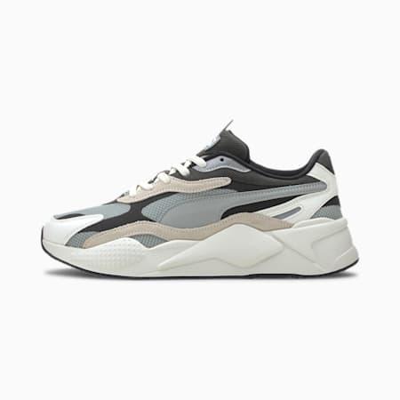 RS-X³ Puzzle Men's Sneakers, Limestone-Whisper White, small