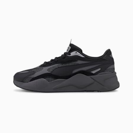 RS-X³ Puzzle Sneaker, Puma Black-CASTLEROCK, small