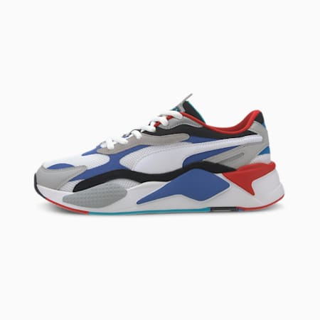 RS-X Puzzle Trainers, PWhite-Dazzling Blue-Hi Rise, small