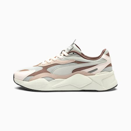RS-X³ Puzzle Sneaker, Rosewater-Glacier Gray, small