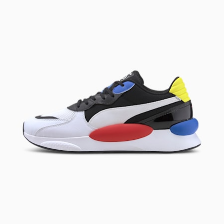 RS 9.8 Fresh Trainers, P White-P Black-Palace Blue, small