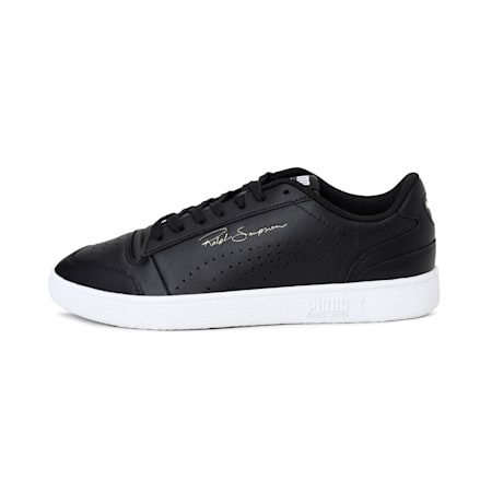 Ralph Sampson Lo Unisex Shoes, Puma Black-Puma White, small-IND