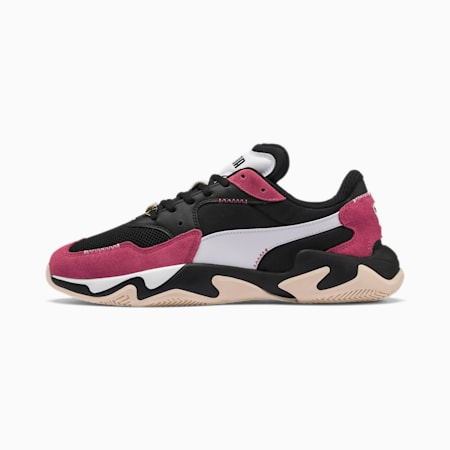 Storm Anti-Valentine's Day Sneakers, Puma Black-Rapture Rose, small