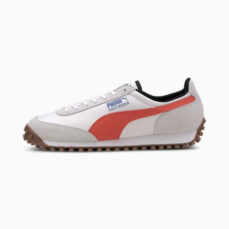 Fast Rider Source Men's Sneakers, Puma White-Hot Coral, small
